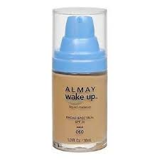 Base de Maquillaje Reanimante del Rostro Almay wake-up 060